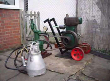 Gascoigne milking machine