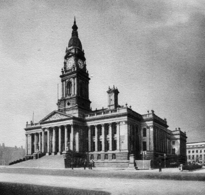 Bolton town hall in 1938