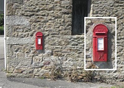 Photo of Green Smithy Letter box